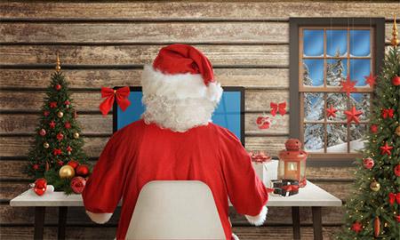 クリスマスプレゼントに添えて、という使い方が多いようです。