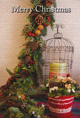 クリスマスらしいデザイン性の高いクリスマスカードが豊富