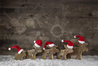 クリスマスカードの表紙と、封筒の表面は同じ向きにする