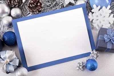海外に送るクリスマスカードのサイズと料金の関係