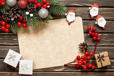 シンプルでかわいらしく姪っ子たちも毎年サンタクロースからのメッセージを 楽しみにしているんです。