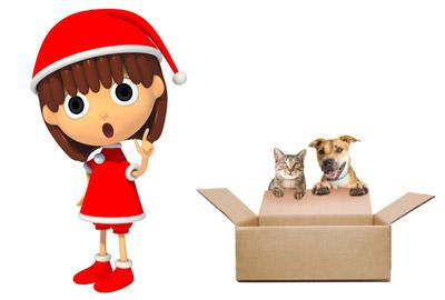 クリスマスカード用のイラスト素材はある?